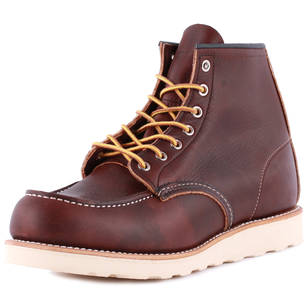 Red Wing 6-inch Moc Toe Uomo Brown Pelle Stivali