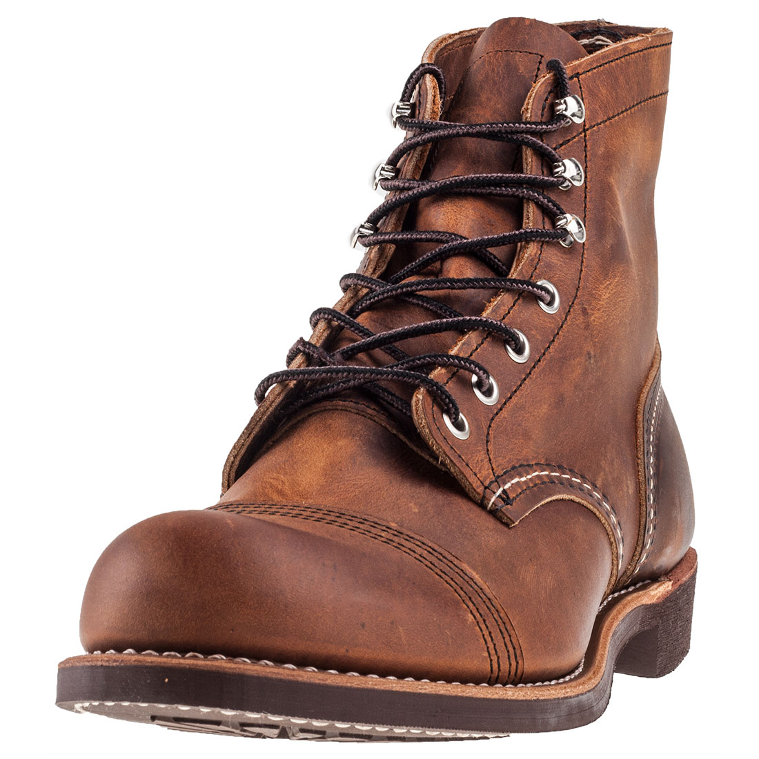 6494b1b268 Image is loading Red-Wing-Iron-Ranger-Mens-Copper-Leather-Boots