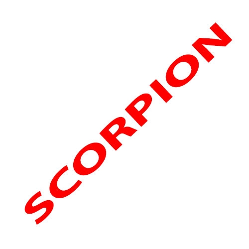 hummel Slimmer Stadil High Mens Casual Trainers in White Blue Red