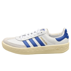 adidas BARCELONA Men Casual Trainers in White Blue