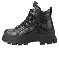 Buffalo ASPHA NC MID VEGAN Women Platform Boots in Black
