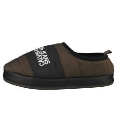 Calvin Klein HOME SHOE SLIPPER Men Slippers Shoes in Black Olive