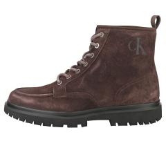 Calvin Klein LUG MID Men Ankle Boots in Dark Brown