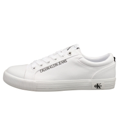 Calvin Klein VULCANIZED SNEAKER LACE UP Women Casual Trainers in White