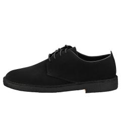 Clarks Originals DESERT LONDON Men Desert Shoes in Black Suede