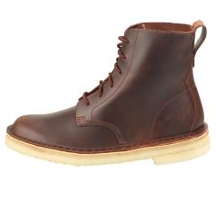 Clarks Originals DESERT MALI Women Ankle Boots in Chestnut