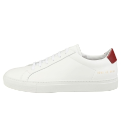 COMMON PROJECTS RETRO LOW Men Casual Trainers in White Red