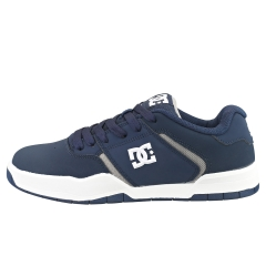 DC Shoes CENTRAL Men Skate Trainers in Navy Grey