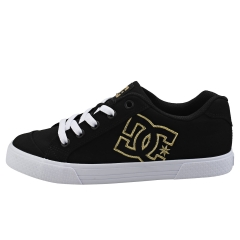 DC Shoes CHELSEA TX Women Casual Trainers in Black Gold
