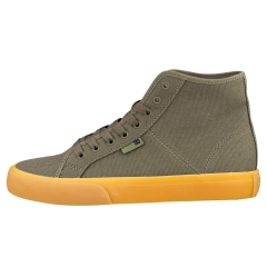 DC Shoes MANUAL HI TXSE Men Casual Trainers in Olive