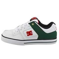 DC Shoes PURE Men Skate Trainers in White Green
