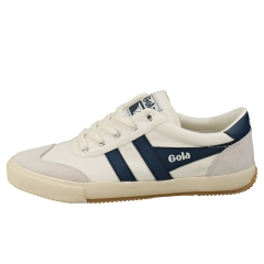 Gola BADMINTON Women Casual Trainers in White Blue
