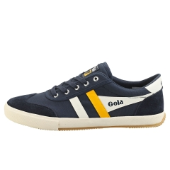 Gola BADMINTON Men Casual Trainers in Navy White