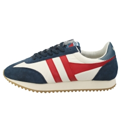 Gola BOSTON 78 Men Casual Trainers in White Navy Red