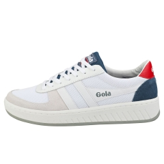 Gola GRANDSLAM Men Casual Trainers in White Blue Red