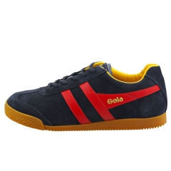 Gola HARRIER Men Classic Trainers in Navy Red Yellow