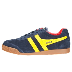 Gola HARRIER Men Classic Trainers in Navy Sun Red