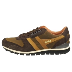 Gola LOWLAND MILLERAIN Men Casual Trainers in Olive Brown