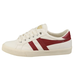 Gola TENNIS MARK COX Women Casual Trainers in Off White Red