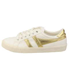 Gola TENNIS MARK COX Women Casual Trainers in Off White Gold