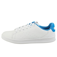 hummel BUSAN Men Casual Trainers in White Blue