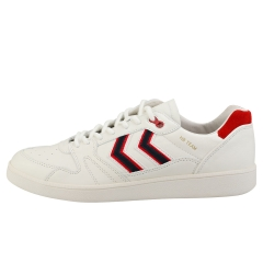 hummel HB TEAM CREST Men Casual Trainers in White Red