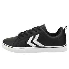 hummel MAINZ Men Casual Trainers in Black White