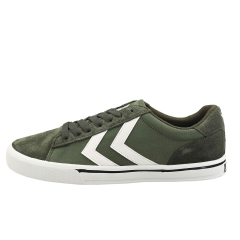 hummel NILE LOW Men Casual Trainers in Olive