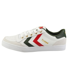 hummel STADIL LIMITED LOW Men Casual Trainers in White Green
