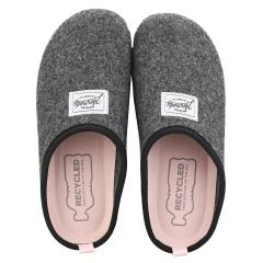 Mercredy SLIPPER BLACK ROSE Women Slippers Shoes in Black Rose