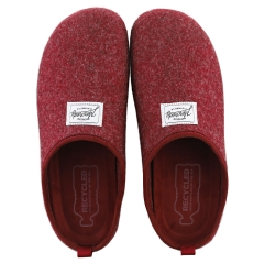 Mercredy SLIPPER BURGUNDY Men Slippers Shoes in Burgundy