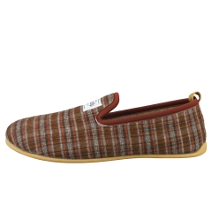 Mercredy SLIPPER CHECK BROWN Men Slippers Shoes in Brown