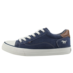 Mustang CAUSAL LACE LOW Women Casual Trainers in Dark Blue