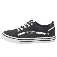 Mustang JEANS LOW TOP Women Casual Trainers in Navy