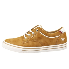 Mustang LACE UP LOW TOP Men Casual Trainers in Cognac