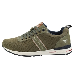 Mustang LACE UP LOW TOP Men Fashion Trainers in Khaki