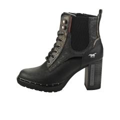 Mustang SIDE ZIP HEEL Women Ankle Boots in Graphite