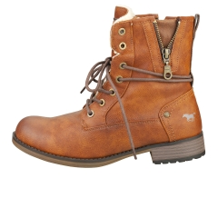 Mustang WINTER ANKLE BOOTS Women Ankle Boots in Cognac