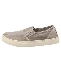 Natural World OLD GAZELLE Men Slip On Shoes in Grey