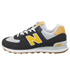 New Balance 574 Men Casual Trainers in Navy Grey