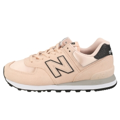 New Balance 574 Women Fashion Trainers in Rose Water