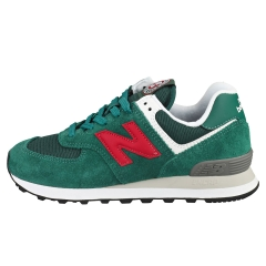New Balance 574 Women Casual Trainers in Green