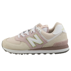 New Balance 574 Women Casual Trainers in Beige Pink