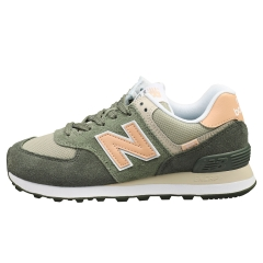 New Balance 574 Women Casual Trainers in Grey Navy