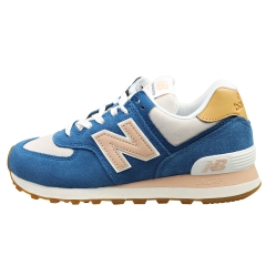 New Balance 575 Women Casual Trainers in Blue Pink