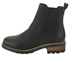 Oak & Hyde BRIDGE Women Chelsea Boots in Black