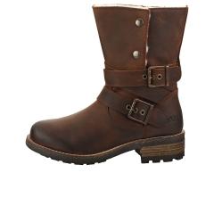 Oak & Hyde BRIDGE DEMI Women Ankle Boots in Brown