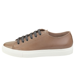 Paul Smith SOTTO BURNISHED SNEAKERS Men Casual Trainers in Brown