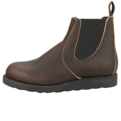 Red Wing 6-INCH CLASSIC Men Chelsea Boots in Ebony Leather