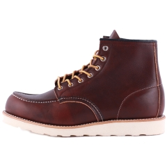 Red Wing 6-INCH MOC TOE Men Classic Boots in Brown